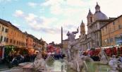 A PraçaNavona: centro dos festejos do dia da Epifania. Foto: divulgação