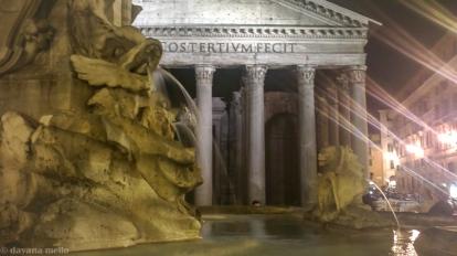 A fonte mais próxima das antigas termas de Agrippa. Alimentada pelo aqueduto Virgo. Foto: © dayana mello