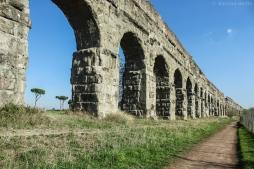 Grande parte de suas ruínas se encontram no Parque dos Aquedutos, onde é possível fazer longas caminhadas e admirar o legado dos romanos.Foto: © dayana mello