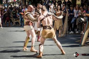 Os gladiadores sempre representaram um certo momento de glória no mundo romano. Foto: Andrea Doxphot