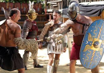 Por fim, a luta entre os gladiadores no Circo Máximo foi um dos momentos mais esperadosFoto: divulgação.