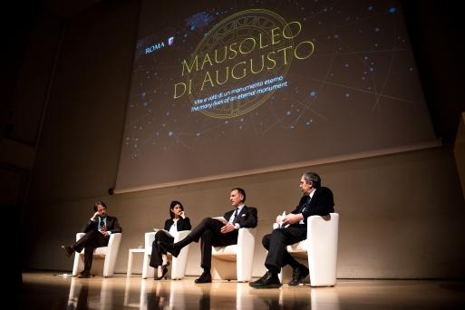 Nessa nova etapa, a restauração conta com a doação de 6 milhões de euros da Fundação TIM, em parceria com a prefeitura de Roma. Foto: Telecom Italia
