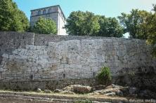"""A acrópole de Alatri com o passar dos séculos foi bem preservada, sendo """"reestruturada"""" durante a Idade Média. Foto:©Dayana Mello"""