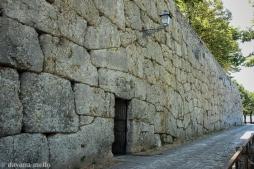 A Acrópole de Alatri, desde o século XIX, é considerada a principal estrutura megalítica do Lácio também devido à sua preservação. Vista da Porta Menor. Foto: ©Dayana Mello