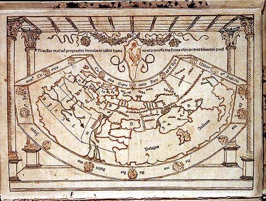 Mapa de Pomponio Mela