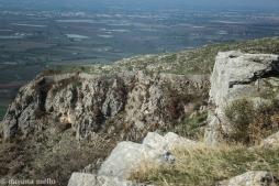 Os muros de Norba encontram-se no alto do monte Lepini e fazem parte do Parque Arqueológico de Norba. Foto:©Dayana Mello