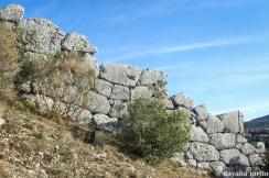 Restos dos Muros de Segni. Foto: ©Dayana Mello.