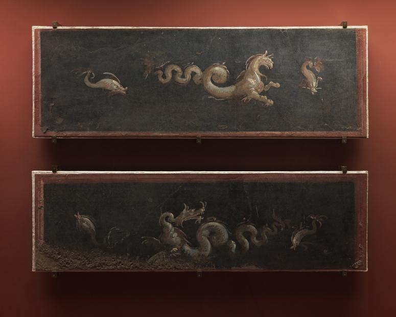 Afrescos Museu Nacional - Séc. I d.C