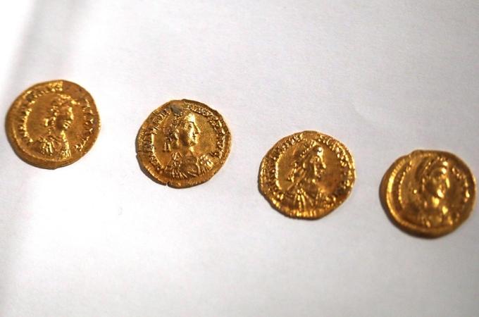 Moedas de Ouro romanas